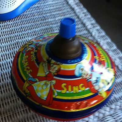Vintage Chad Valley Spinning Top