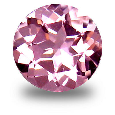 0.23 ct Super-Excellent Round Cut (4 x 4 mm) Pink Color Morganite Gemstone
