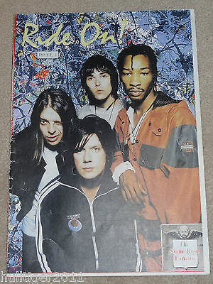 Ride On Issue Four 4 The Stone Roses 1990's Fanzine Magazine Ian Brown Reviews