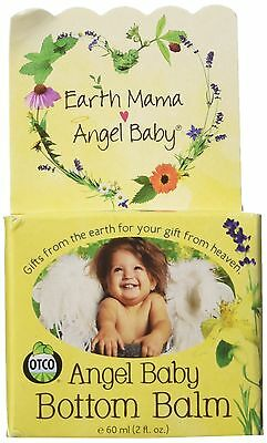 Earth Mama Angel Baby Bottom Balm Natural Diaper Cream Made with Organic Cale...