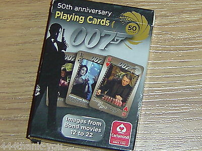 James Bond 007 50th Anniversary Playing Cards
