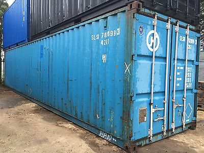 40ft Steel Storage / Shipping Container, FREE DELIVERY!!!! Within 20miles.