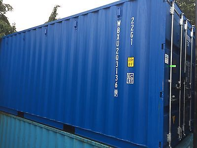 20x8 One Trip/Once Used Storage / Shipping Container, FREE DELIVERY !!!!