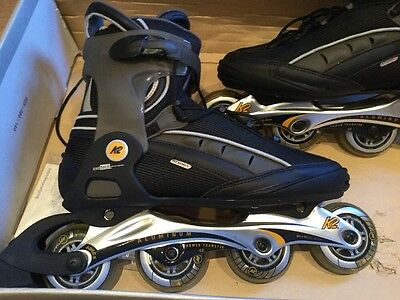 K2 Xcelerate High End Inline Rollerblades Skates Size 11 New Small Fitting