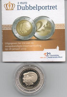 Pays-Bas 2 Euros Commemorative  Be/proof 2013