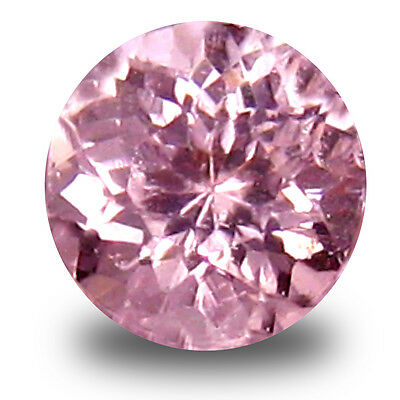 0.25 ct Best Round Cut (4 x 4 mm) Pink Color Natural Morganite Natural Gemstone