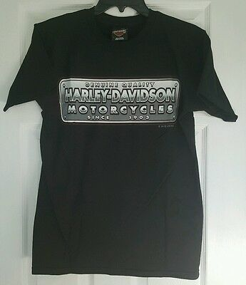 Harley Davidson Small Men's T-Shirt 100% Cotton NWT on Sale