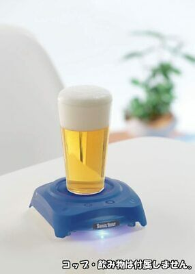 BRAND NEW Sonic Hour Beer Foamer Black