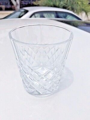 Set Of 4 Crystal Drambuie Rocks Glasses Excellent condition