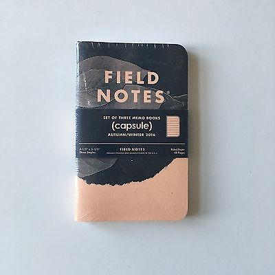 Field Notes - limited edition Capsule edition