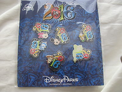 Disney Trading Pins 113643 Booster Pack - Characters - 2016