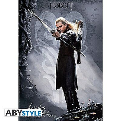 """ABYstyle """"Legolas"""" The Hobbit Poster (Multi-Colour) New"""