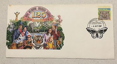1988 Royal Melbourne Zoological Gardens FDC