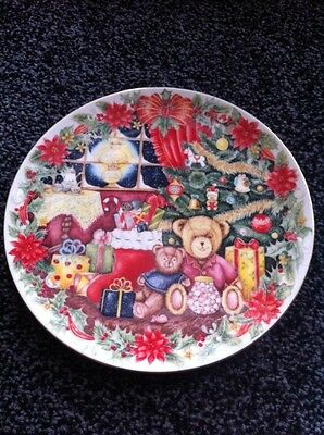 Royal Doulton Together For Christmas China Plate 1993 Collectable Jane James