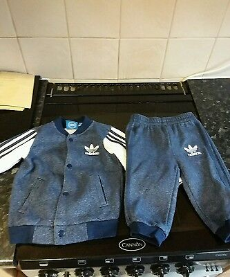 adidas originals tracksuits baby size 6-9 months x3