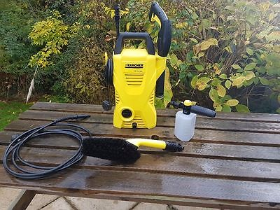 Karcher K2 Compact Pressure Washer & Extra Attachments