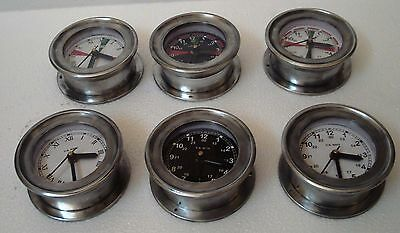6 pcs U.S. Navy Marine Ship's WALL Clock - All Different -100% SATISFACTION (A)