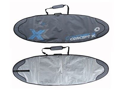 Concept X Boardbag Windsurf Surfbrett Tasche Rocket 257 x 66 cm