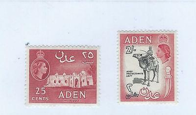 Aden Unmounted Mint Old Values