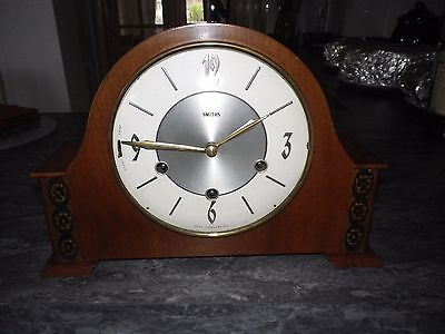 Smiths Westminster chime Mantel Clock.