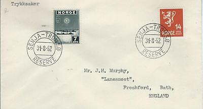 Norway Seapost Paquebot Cover