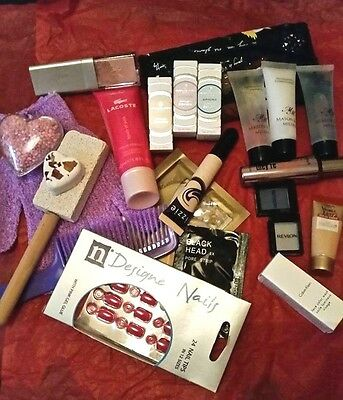 23 Piece Set--Pamper Gift, Perfume Makeup, Bath, Shower , Nails  *limited stock*