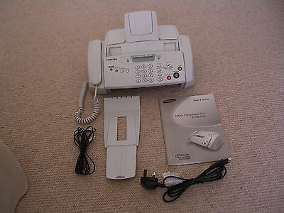 Samsung Sf-330 Plain Paper Injet Fax With Phone Machine
