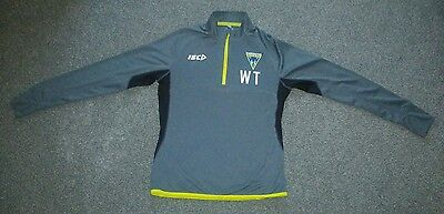 Warrington Wolves Rugby League Training Top size medium Player Issue