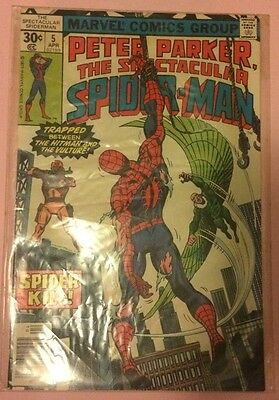 The Spectacular Spider-Man Vol 1, Issue 5 VG