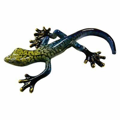 Rainbow Gecko Ornament E