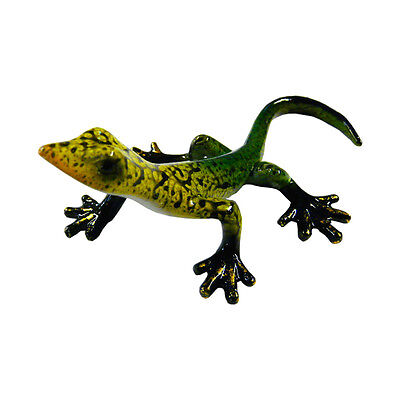 Rainbow Gecko Ornament D