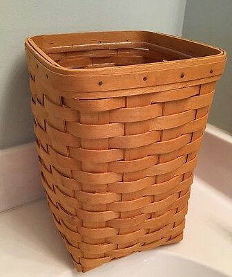 Longaberger Basket Large Spoon 2000 With Protector