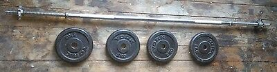Weight Bar and Plates (4x5kg)