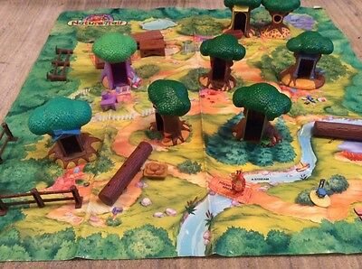 winnie the pooh hundred acre woods playset toy