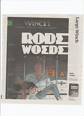 Largo Winch    Rode Woede  Speciale Uitgave