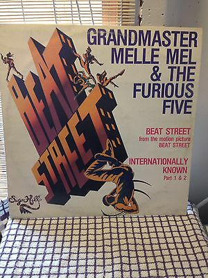 Grandmaster Melle Mel And The Furious Five Beat Street