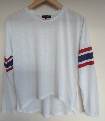 Womens New Look  Long Sleeve Top Size 8