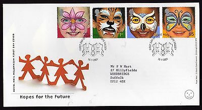 First Day Cover....Hopes for the Future... (16th January 2001)