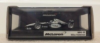 2000 Mclaren MP4-15 Mika Hakkinen 1:43 Hot Wheels Model F1 Car