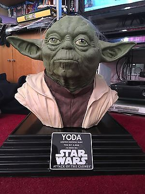 Star Wars Attack Of The Clones Yoga Bust Limited Edition 908 Of 5000
