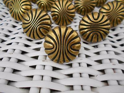 LOT of 14 brass drawer pulls cabinet knobs ~ (3 lots available)