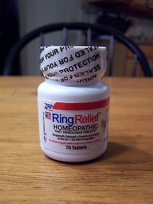 TRP Ring Relief Homeopathic Fast Dissolving 70 Tabs Tinnitus Buzz Wax Congestion
