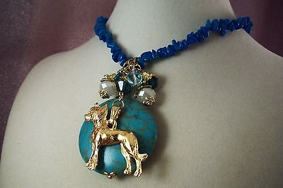 CHINESE CRESTED -Dog-S2-HOT SALE-NECKLACE-Made by USArtisan-Jewelry-  FREE SHIP