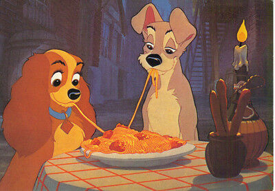 Postcard - Disney - Lady And The Tramp (20130)