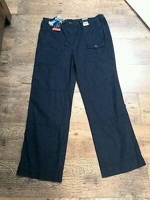 Ladies trousers by Maine at Debenhams sz 14s  new with tags roll up (crop)