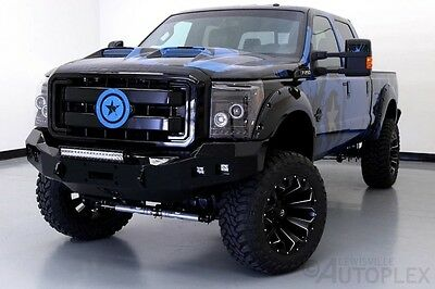 2016 Ford F-250  16 Ford F250 Captain America Edition 7 Inch FTS Lift 22 Inch Fuel Wheels
