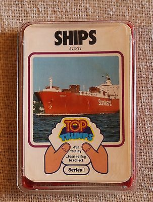 Vintage Dubreq Limited Top Trumps Card Game In Box - Ships