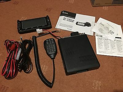 Icom ID-5100 Inc Genuine Mount And Programming Cable Boxed