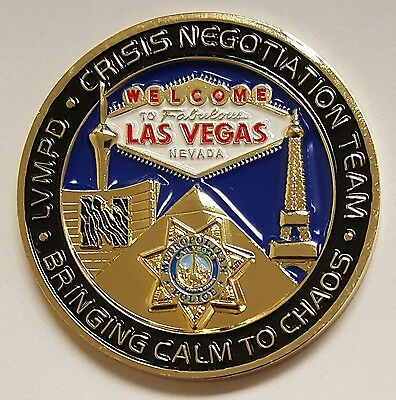 Las Vegas Metropolitan Police Department LVMPD Crisis Negotiation Team