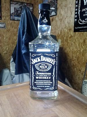 1.75 Liter Empty Bottle of Jack Daniels